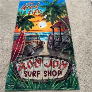 Ron Jon Surf Shop towel *NWT*